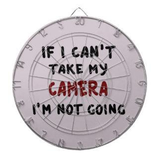 If I can't take my camera... Dartboard