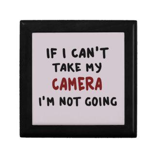 If I can't take my camera... Gift Box