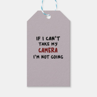 If I can't take my camera... Gift Tags