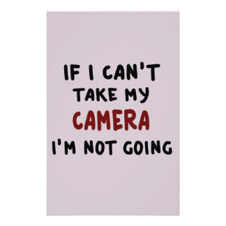 If I can't take my camera... Stationery