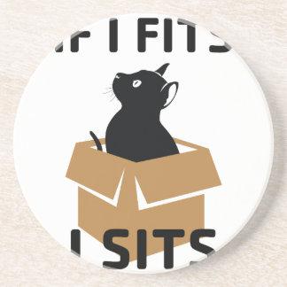 If I Fits I Sits Coaster