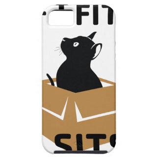 If I Fits I Sits iPhone 5 Cover