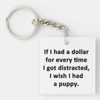 If I Had a Dollar Keychain