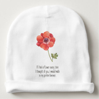 If I had a flower Baby Beanie