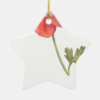If I had a flower Ceramic Ornament