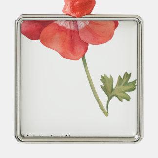 If I had a flower Metal Ornament