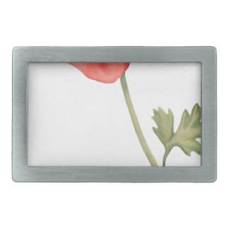 If I had a flower Rectangular Belt Buckle