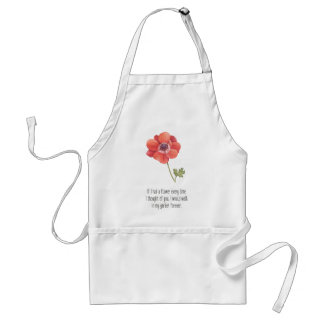 If I had a flower Standard Apron