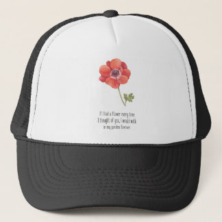If I had a flower Trucker Hat