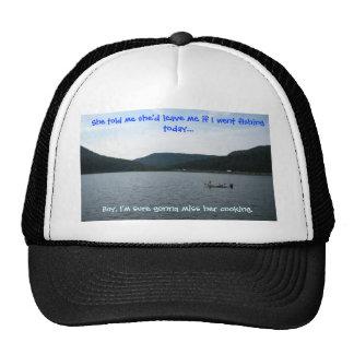 If I Went Fishing Today Trucker Cap Mesh Hat