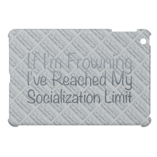If I'm Frowning…in Grey Case For The iPad Mini