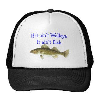 if it aint walleye aint fish trucker hat