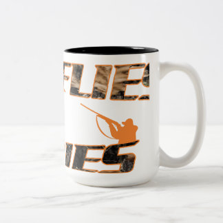 If it Flies it Dies Two-Tone Coffee Mug