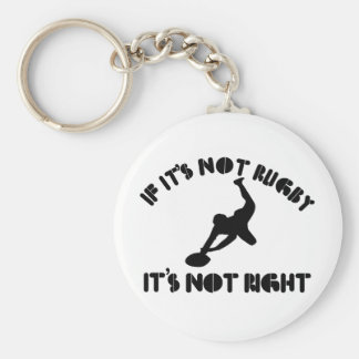 If it's not rugby it's not right keychain