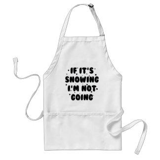 If It's Snowing Standard Apron