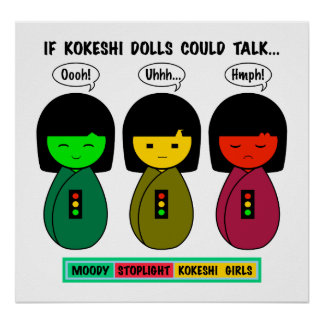 If Kokeshi Dolls Could Talk Poster