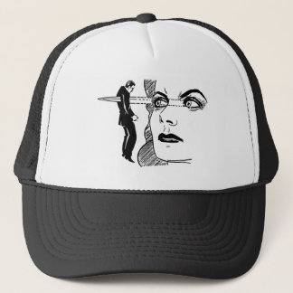 If Looks Could Kill (Dagger Eyes) Trucker Hat