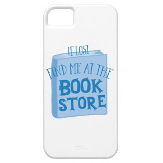if lost find me at the book store iPhone 5 covers