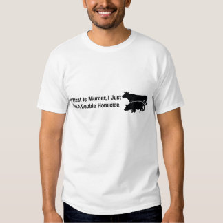 If Meat Is Murder... T Shirts