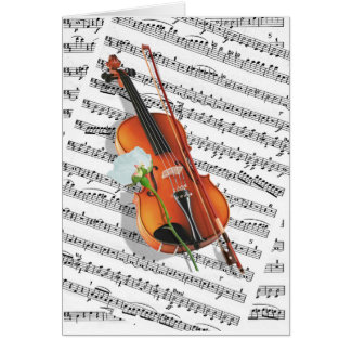 If music be the food of love.... card