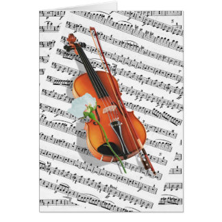 If music be the food of Love Card