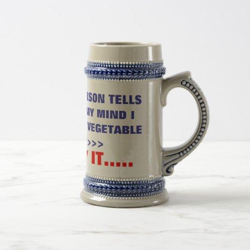 IF ONE MORE PERSON TELLS , ME I'M LOSING MY MIN... COFFEE MUG