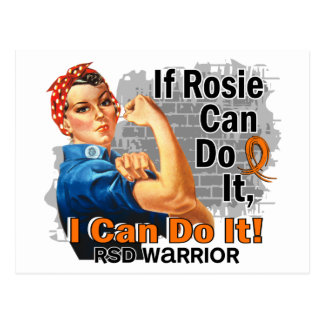 If Rosie Can Do It RSD Warrior Postcard