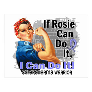 If Rosie Can Do It Scleroderma Warrior Postcard