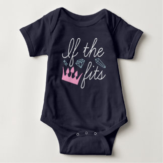 If The Crown Fits Baby Bodysuit