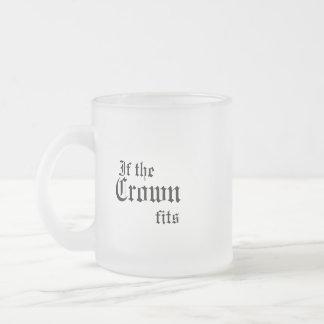 If the crown fits mug
