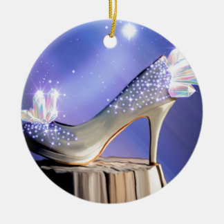 If The Shoe Fits Ceramic Ornament