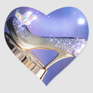 If The Shoe Fits Heart Sticker
