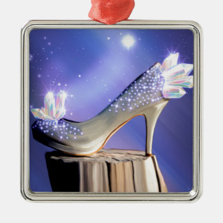 If The Shoe Fits Metal Ornament