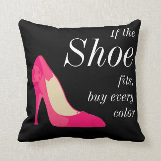 If the shoe fits pillow