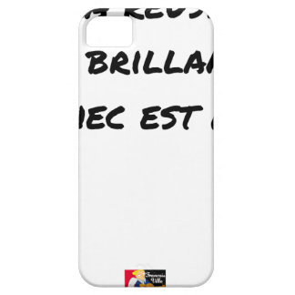 If the Success is brilliant, the failure is matt iPhone 5 Case