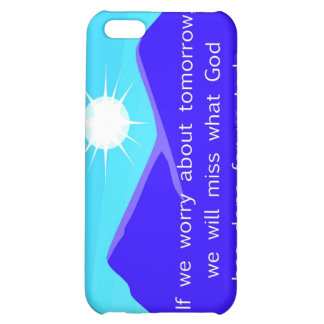 If we worry about tomorrow Christian saying iPhone 5C Case