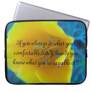 If you always do what your comfortable doing laptop sleeve