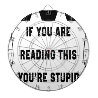 If you are reading this dartboard