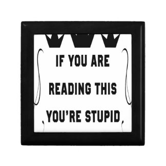 If you are reading this gift box