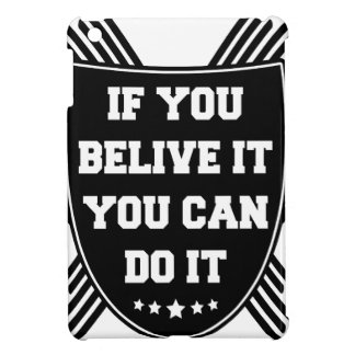If you belive it you can do it cover for the iPad mini