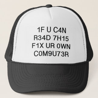 If You Can Read This Trucker Hat