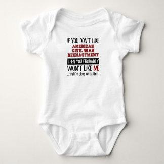 If You Don't Like American Civil War Reenactment Tee Shirt