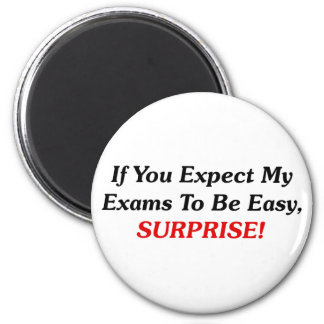 If You Expect My Exams To Be Easy, SURPRISE! Magnet