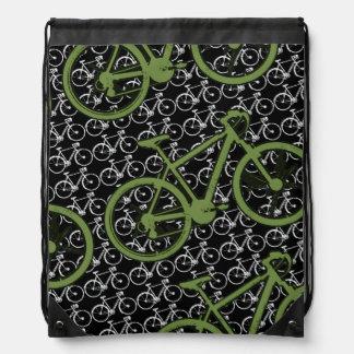 if you like bikes drawstring backpack