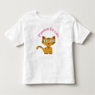 If you like the kittens, she is for you toddler t-shirt