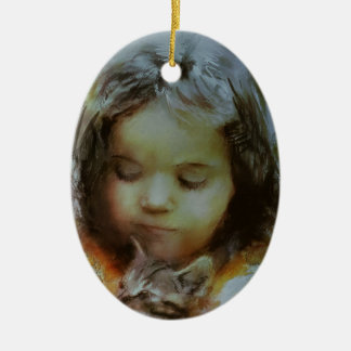 If you love something.JPG Ceramic Ornament