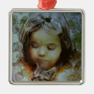 If you love something.JPG Metal Ornament
