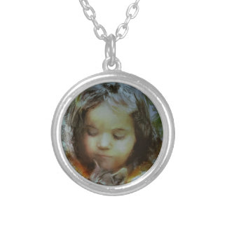 If you love something.JPG Silver Plated Necklace