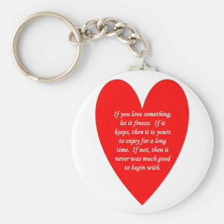 if-you-love-something-let-it-freeze keychain