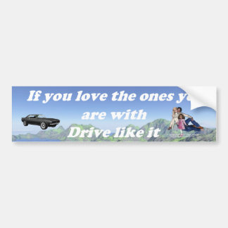 If_You_Love_the_Ones_mountain_range Bumper Sticker